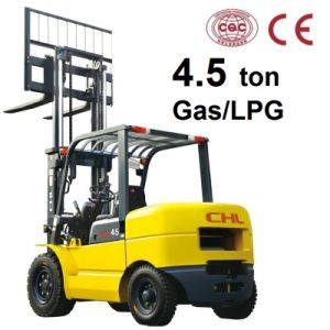 4.5 Ton Forklift LPG/Gasoline with Gm4.3 Engine pictures & photos