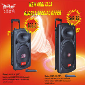 Cheap Price Speaker Wireless Protable Battery Speaker 6814-16 pictures & photos