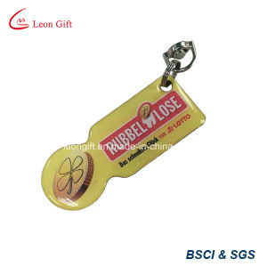 Customized Logo Trolley Coin Keychain for Supermarket Cart pictures & photos