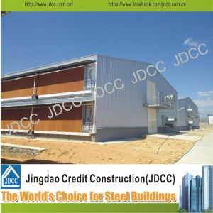 Sealed Two Storey Galvanized Light Steel Structure Chicken House pictures & photos