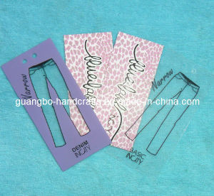 High Quality New China Design Jeans Hang Tags (JH-456) pictures & photos