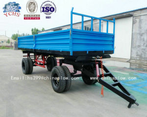 2015 New Style Farm Trailer with 4 Wheel Tractor for Africa Market pictures & photos