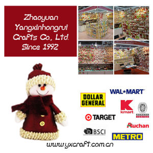 Christmas Decoration (ZY15Y114-1-2) Hanging Fabric Lanterns pictures & photos