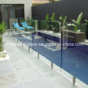 6mm, 8mm, 10mm, 12mm Clear Framless Tempered Glass Pool Fence pictures & photos