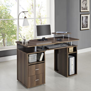 Computer Desk MDF Black White Beech Walnut Home Office PC Table Work Station MDF pictures & photos