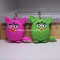 Plastic Animal Toy with Key Ring (selling) pictures & photos