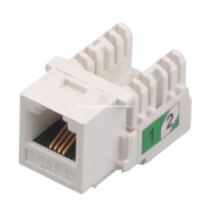 telephone cat keystone jack rj utp degree telephone cat 3 keystone jack rj11 utp 90 degree