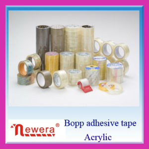 Customized Yellowish Transparent Self Adhesive Shipping Tape for Carton Sealing pictures & photos