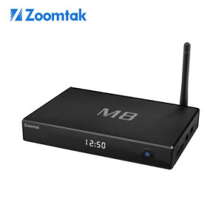 Smart TV Set-Top Box M8 with Dual WiFi Android 4.4 pictures & photos