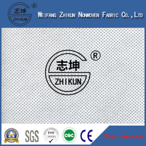 Breathability Non Woven Fabric for Shoes Interlining in Cross Design pictures & photos