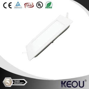 2015 Ultra Thin Square LED 4W Dimmable Panel Light pictures & photos