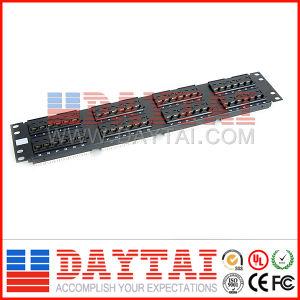 Cat5e 48 Ports Fiber Optic Patch Panel pictures & photos