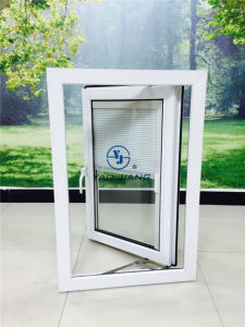 PVC Casement Window with Shutter Inside (Veka AD70)