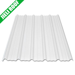 Cheap Corrugated PVC Plastic Fence Sheet pictures & photos