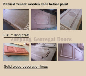 Painted Sandwich Composite Wooden Door (JO-003) pictures & photos