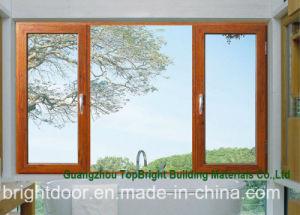 Guangzhou Aluminium Color Glass Casement Windows for Sale pictures & photos