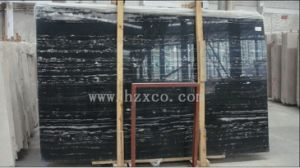 Silver Dragon Marble Slabs, Silver Dragon Tile, Black for Floor pictures & photos