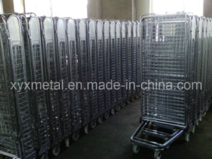 4 Sides Security Metal Wire Mesh Roll Container pictures & photos