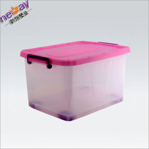 Neway Strong Plastic Storage Box for Storing Clothes pictures & photos