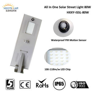 80W Solar Integrated Garden Light Street Light Integrated Solar Garden Light/Residential Light/Road Light pictures & photos
