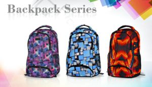 2017 Printing Fabric Computer Laptop Sport Backpack pictures & photos