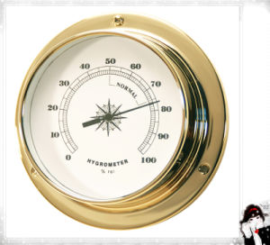 Room Wall Brass Case Hygrometer Dial 81mm pictures & photos