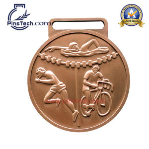 Sport Medal with Antique Cooper Finish, Accept Paypal pictures & photos