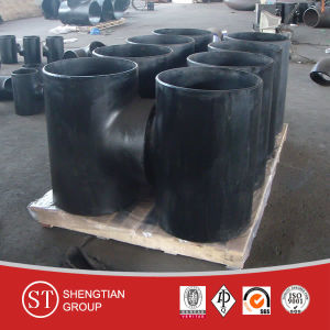 Black Tee Carbon Steel Pipe Fitting pictures & photos