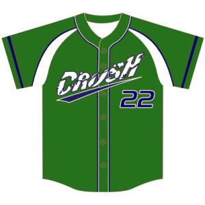Customized Mens Full Sublimation Baseball Jersey for Teams pictures & photos