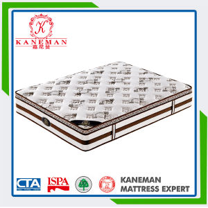 New Design Luxury Vacuum Roll Packing Pocket Coil Spring Mattress pictures & photos