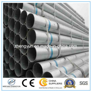 Different Size Carbon Steel Welded Hot Dipped Pipe and Tube pictures & photos