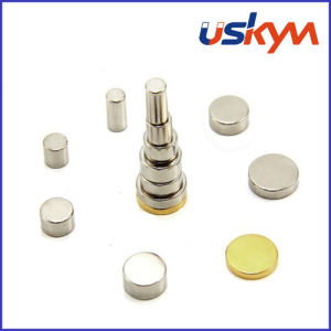 Round Neodymium Magnets (D-008) pictures & photos