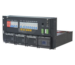 19′ Rack Mount Telecom Rectifier System with DC Distribution Panel