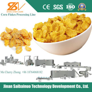 Crispy Corn Flakes Extruder Machine Equipment Plant pictures & photos