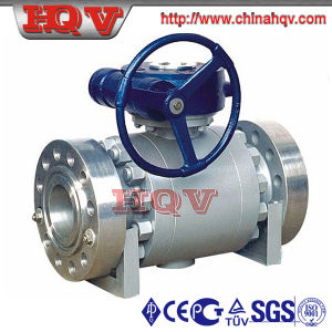 Forged Steel SGS Trunnion Mounted Ball Valve