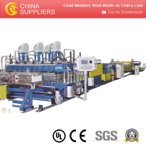 PP PE Sheet Plate Making Machine pictures & photos