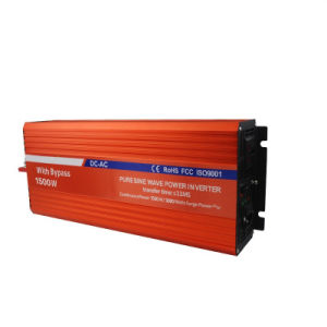 1500W DC to AC Power Inverters with Bypass pictures & photos