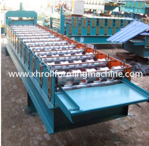 Type Colored Steel Glazed Tile Sheet Metal Forming Machine pictures & photos