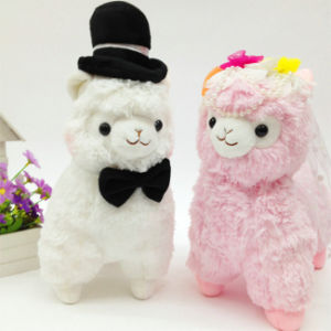 Cute Stuffed Animal Soft Toy Colorful Alpaca Plush Toy pictures & photos