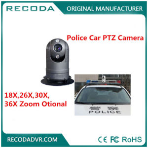 Vehicle Mounted Police Car PTZ Camera System 36X Dome Infrared Waterproof pictures & photos