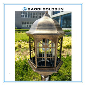 Aluminum Material High Brightness Solar Garden Light with Function to Mosquito Killer Lamp pictures & photos
