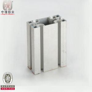 Extruded Aluminium Profile of Rectangular Tube (ZP-I420)