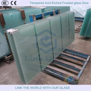 3-15mm Tempered Acid Etched Glass, Frosted Glass, Satin Glass for Glass Door pictures & photos