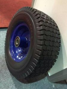 Trolley Wheel Pneumatic Tire Air Rubber Wheel 400-8 pictures & photos