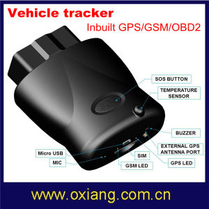 Newly Design Portable GPS Vehicle Tracker Inbuilt GPS/GSM/OBD 2 pictures & photos