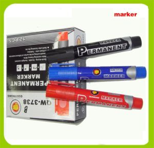 Igh Quality Permanent Marker Pen (3738) pictures & photos