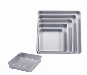 Bakeware Aluminum Anodized Square Cake Pan (MY2808A-MY2816A) pictures & photos