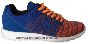 Ladies Gym Sports Shoes Flyknit Athletic Walking Footwear (516-5894) pictures & photos