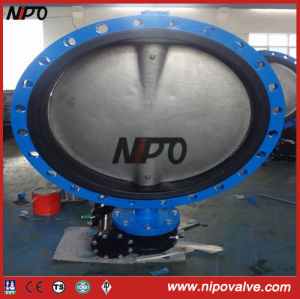 Flanged Concentric Disc Butterfly Valve with Gear Operator pictures & photos