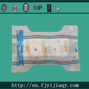 Middle Quality Disposable Cotton Baby Diaper pictures & photos